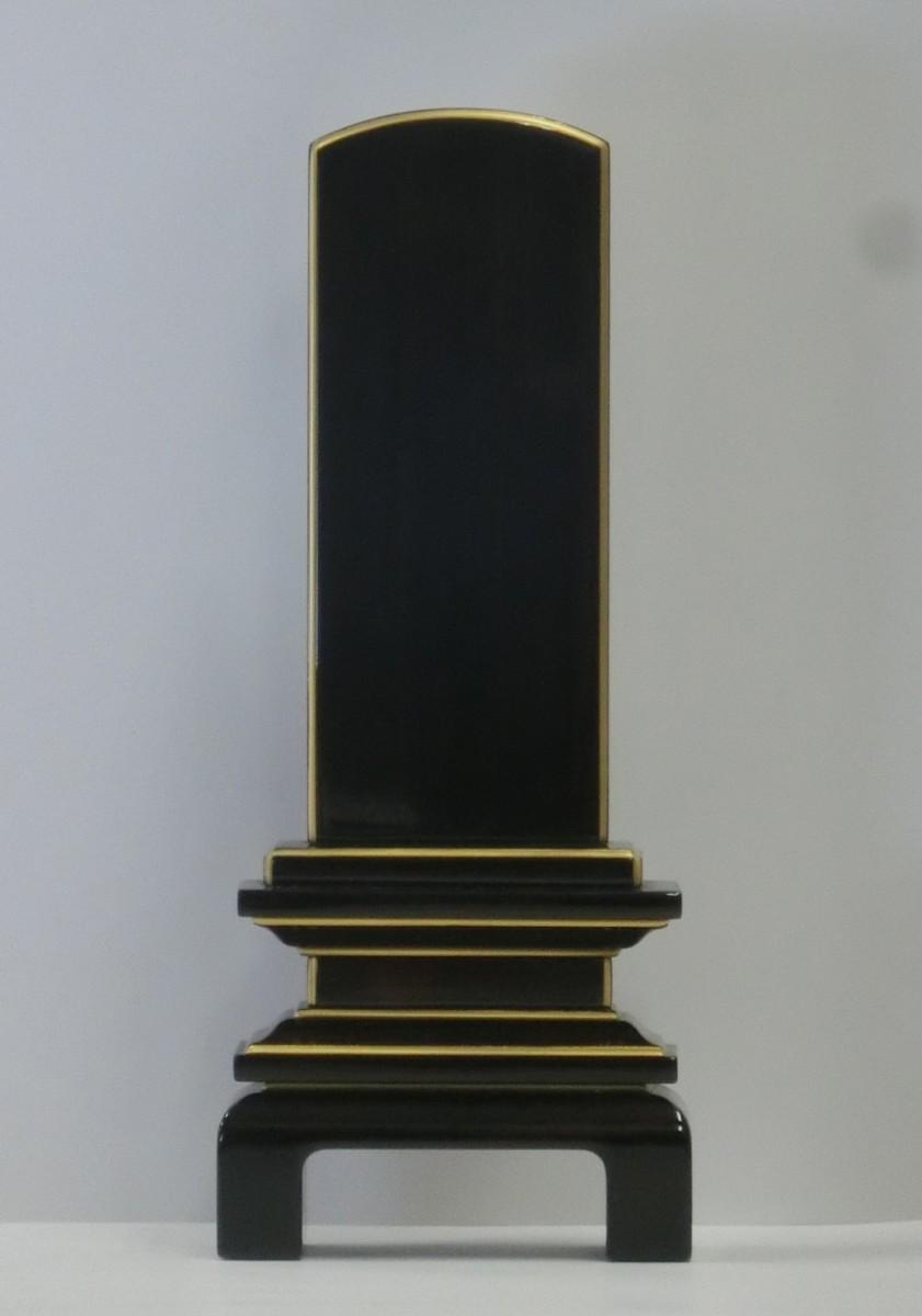 京の梅(黒檀・紫檀)-会津唐木漆位牌